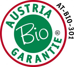 The Organic Shop® products are certified by Austria Bio Garantie